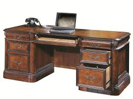 72 inch desk with drawers aspenhome napa 7 drawer executive desk with ash burl panels and