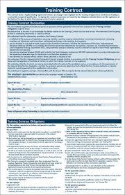 employee training agreement template eliolera com