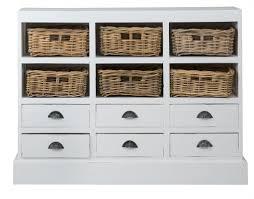 Cabinet Baskets Storage Beachcrest Home Goulding 6 Drawer And 6 Basket Storage Cabinet