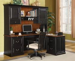 Computer Desk Set L Shaped Desk Set In Two Tone Finish By Coaster 800851l