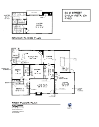 single family gallery home drawn san diego