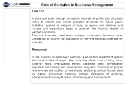 business mathematics and statistics ppt video online download
