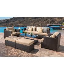 Curved Modular Outdoor Seating by Patio Furniture