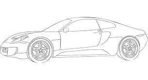 coloriage à imprimer véhicules voiture dodge numéro 469569
