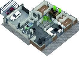 plan de maison avec cuisine ouverte mfc 2020 la maison bioclimatique du futur destinée au grand