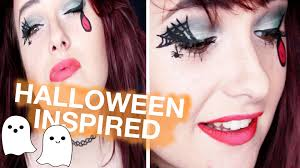 cheap easy halloween inspired makeup tutorial for beginners youtube