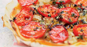 cuisiner tomates tarte tomates oignons recette gourmand
