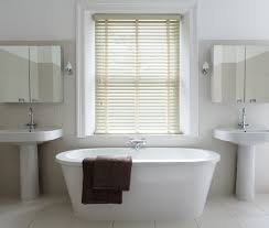 bathroom blinds ideas uplift your bathroom with our wooden blinds woodenlblinds