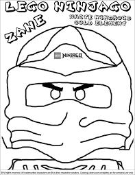 lego ninjago printable masks coloring pages sketch coloring page