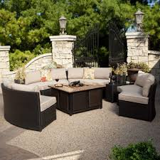 Sams Club Patio Sets by Furniture Modern Patio Furniture With Fire Pit Diy Fire Pit