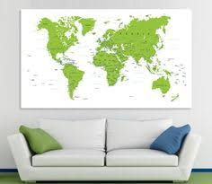 world map image with country names hd large world map canvas panels set ancient world map print