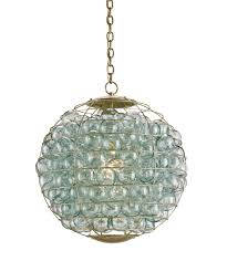 Large Pendant Lighting by Currey And Company 9395 Pastiche Orb 23 Inch Wide 1 Light Large