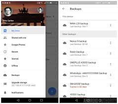 android drive drive on android now has a dedicated app and device backup