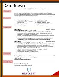 Spanish Teacher Resume Examples by Examples Of Resumes Teacher Resume 2016 For Elementary