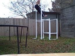 Diy Backyard Pull Up Bar by Weebz Equipment Custom Pull Up Dip Skid Youtube
