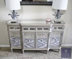 console table tv stand images mirrored table console of stunning mirrored console buffet