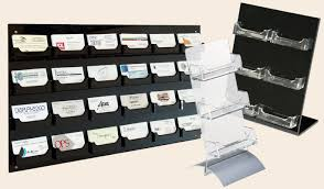 Business Card Dispenser Business Card Holders Single Or Multi Card Cases U0026 Display Racks