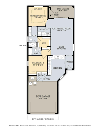 Single Family Floor Plans Single Family Homes At Bridgetown At The Plantation Real Estate