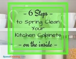 how to clean inside of cabinets 6 steps to clean your kitchen cabinets on the inside