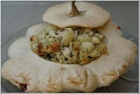 cuisiner le patisson blanc pâtisson farci au poulet et à la persillade en passant par ma