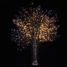 twig tree with led lights new white snowy led indoor outdoor