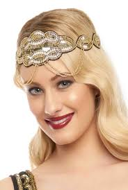 hair headbands 1920s style flapper headbands headdresses wigs