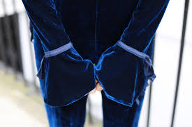 blue velvet jumpsuit the velvet jumpsuit amelia liana