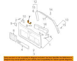 lexus gx470 model year changes lexus toyota oem 03 09 gx470 liftgate tailgate assist strap