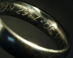 wedding ring engraving why you should engrave your wedding rings and what to engrave