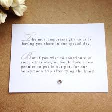 honeymoon fund bridal shower amazing how to ask for money on a wedding invitation and fresh how