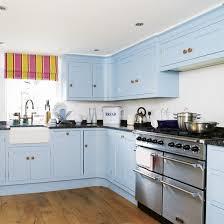 light blue kitchen cabinets uk sky blue kitchen ideal home blue kitchen cabinets