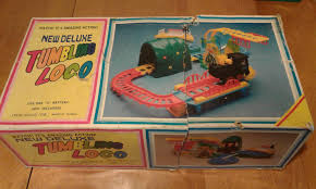 vintage 1977 tumbling loco set battery operated