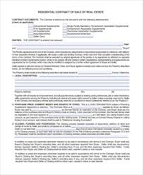 sample sales contract 7 documents in word pdf