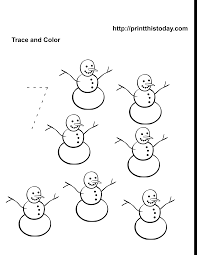 cosy snowman math worksheets first grade for christmas math