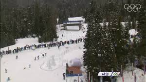 cross country skiing women 30km mass start complete event