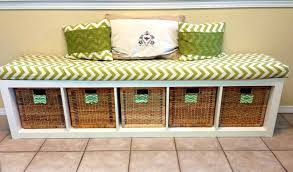 shoe storage bench with padded seat and drawer best 25 storage