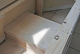 Build A Window Seat - build a window seat yourself at the picket fence