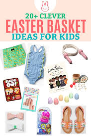 kids easter baskets easter basket ideas for kids besides candy one lovely