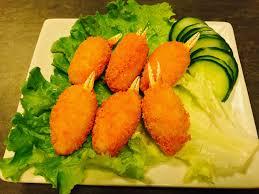 vente à domicile cuisine pinces de crabe au surimi x6 maxi sushi restaurant japonais à