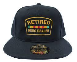 Meme Snapback - custom retired drug dealer bk emoji meme jay z snapback hat