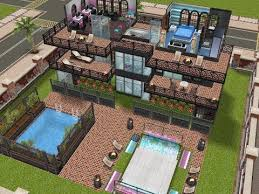 Home Design For Sims Freeplay Sims Freeplay House Design Pool Skater Mansion Youtube S