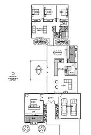 green plans h shaped container home plan house plans bath