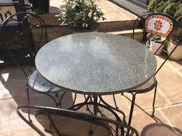 Granite Patio Tables John Lewis Granite Bistro Table U2013 Valeria Furniture
