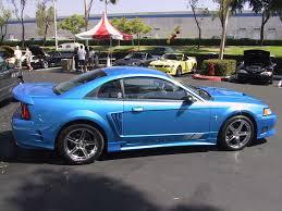 Black Mustang Saleen 99 04 Saleen Mustang 1999 Saleen Mustang