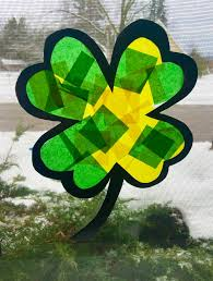 Kids Stained Glass Craft - stained glass clover craft for kids the jenny evolution