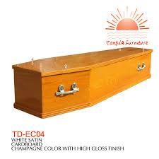 Favorito TD-EC04 funeral caixão caixão de madeira maciça da china fábrica  #GR29