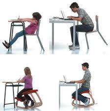 postura corretta scrivania sgabello basculante per scrivania variable邃 balans箘 di vari罠r