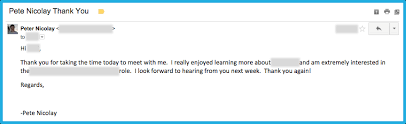 Subject Line For Resume Email Write An Awesome Follow Up Email After Your Interview Howtoanalyst
