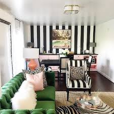 Modern Interior Design Living Room Black And White Best 25 Striped Accent Walls Ideas On Pinterest Striped Walls