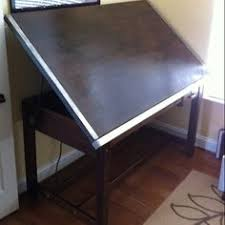 Drafting Table Mat Vintage Industrial Hamilton Drafting Table Kitchen Island
